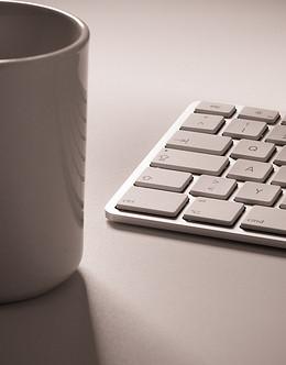 coffee-and-keyboard